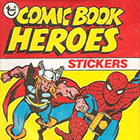 1975 Topps Comic Book Heroes Stickers