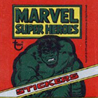1976 Topps Marvel Super Heroes Stickers