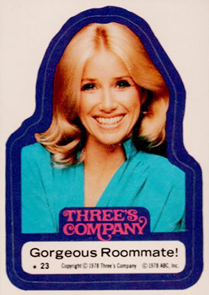 1978 Topps Three's Company Trading Cards 23