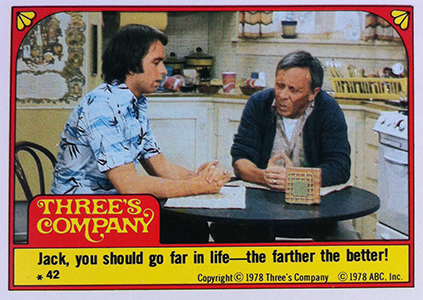 1978 Topps Three's Company Trading Cards 4