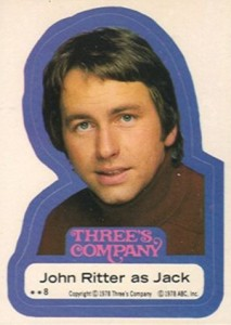 1978 Topps Three's Company Trading Cards 3