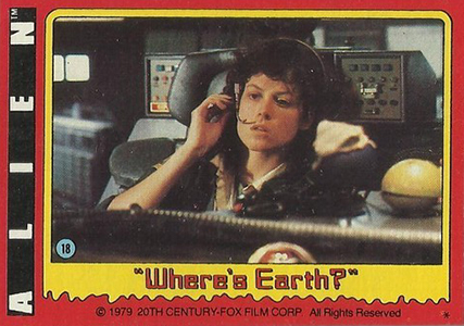 1979 Topps Alien Base Card