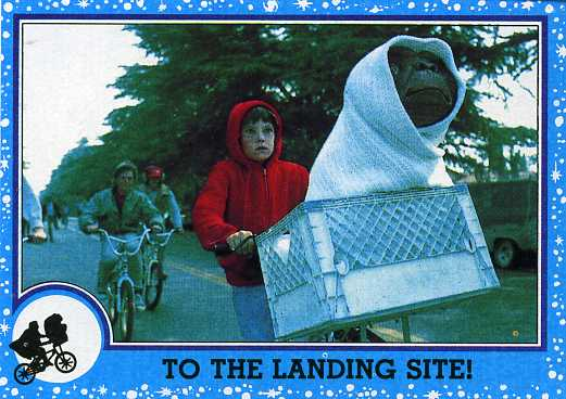 1982 Topps ET The Extra-Terrestrial Trading Cards 1