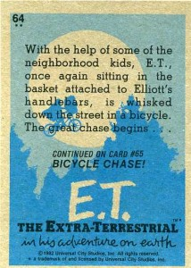 1982 Topps ET The Extra-Terrestrial Trading Cards 2