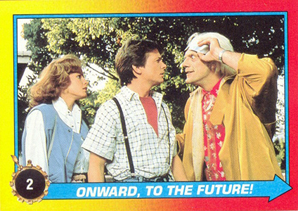 1989 Topps Back to the Future II Trading Cards 24