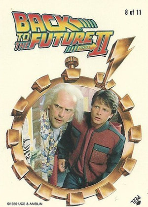 1989 Topps Back to the Future II Trading Cards 25