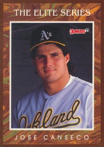1991 Donruss Elite Jose Canseco