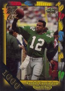 1991 Wild Card 1000 Stripe Randall Cunningham