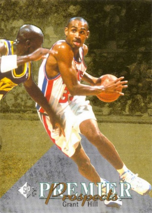 Grant Hill Rookie Cards and Memorabilia Guide 1