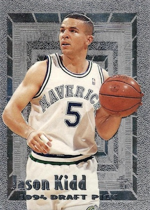 Jason Kidd Rookie Cards and Memorabilia Guide 4