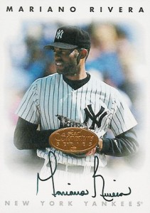 1996 Leaf Signature Series Bronze Autographs Mariano Rivera