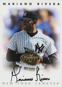 1996 Leaf Signature Series Gold Autographs Mariano Rivera