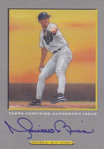 2005 Topps Turkey Red Mariano Rivera Autograph