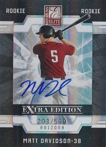 2009 Donruss Elite Extra Edition Matt Davidson