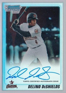 Delino DeShields Jr. Baseball Card Guide 1