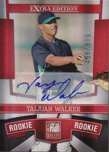 2010 Elite Extra Edition Taijuan Walker Autograph