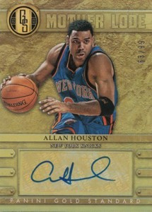 2012-13 Panini Gold Standard Mother Lode 17 Allan Houston