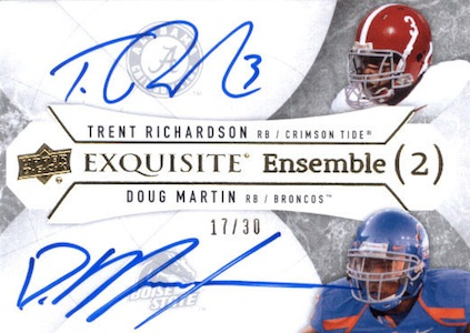 2012 Upper Deck Exquisite Football Cards 14