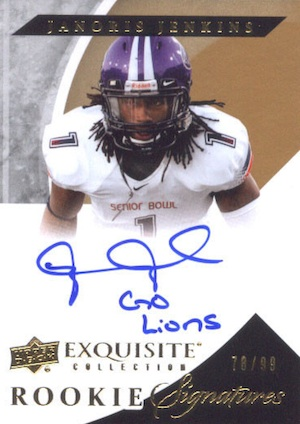 2012 Upper Deck Exquisite Football Cards 4