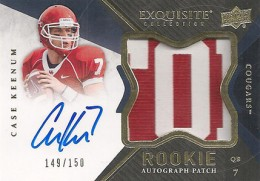 2012 Upper Deck Exquisite Football Rookie Autograph Patch Visual Guide 5