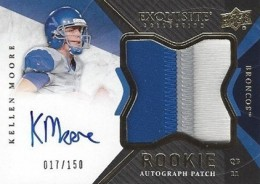 2012 Upper Deck Exquisite Football Rookie Autograph Patch Visual Guide 6