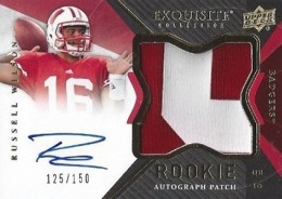 2012 Upper Deck Exquisite Football Rookie Autograph Patch Visual Guide 7