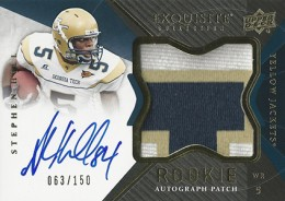 2012 Upper Deck Exquisite Football Rookie Autograph Patch Visual Guide 14