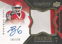 2012 Upper Deck Exquisite Football Rookie Autograph Patch Visual Guide 19