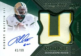 2012 Upper Deck Exquisite Football Rookie Autograph Patch Visual Guide 24