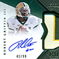 2012 Upper Deck Exquisite Football Rookie Autograph Patch Visual Guide