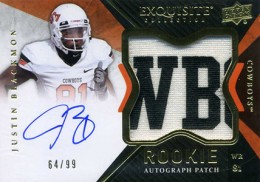 2012 Upper Deck Exquisite Football Rookie Autograph Patch Visual Guide 29