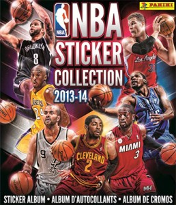 2013-14 Panini NBA Stickers Album