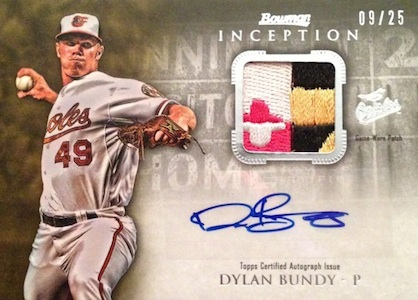 2013 Bowman Inception Baseball Cards 8