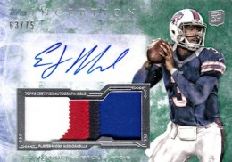2013 Topps Inception Football Cards 7