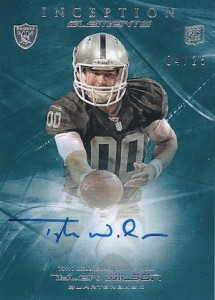 2013 Topps Inception Football Cards 11