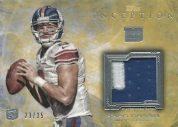 2013 Topps Inception Football Cards 14