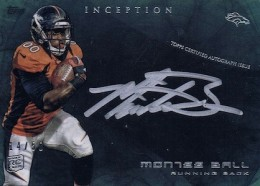 2013 Topps Inception Football Cards 17