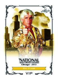 2013 Leaf National VIP Ric Flair Image