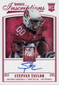 2013 Panini Elite Football Rookie Inscriptions Short Prints Guide and Gallery 41