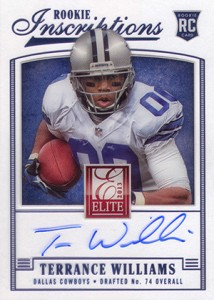 2013 Panini Elite Football Rookie Inscriptions Short Prints Guide and Gallery 12
