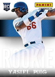 Yasiel Puig Signs Autograph Deal with Panini, Slated to Appear at 2013 National 1