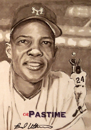 2013 Pastime Collection Enshrined Edition Sketch Card