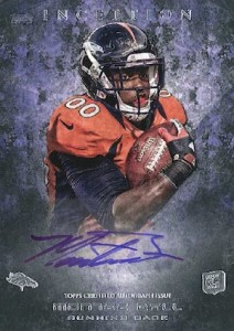 2013 Topps Inception Football Cards 5