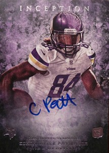 2013 Topps Inception Football Rookie Autographs Guide 21