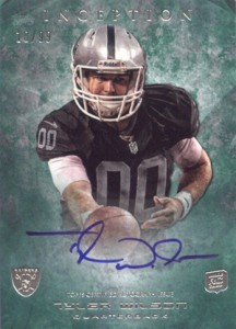 2013 Topps Inception Football Rookie Autographs Guide 24