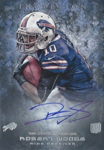 2013 Topps Inception Football Rookie Autographs Guide 5
