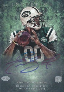 2013 Topps Inception Football Rookie Autographs Guide 25