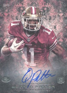 2013 Topps Inception Football Rookie Autographs Guide 6