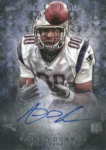 2013 Topps Inception Football Rookie Autographs Guide 8