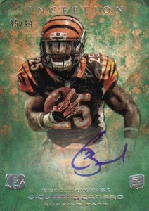 2013 Topps Inception Football Rookie Autographs Guide 28